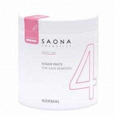 Сахарная паста для шугаринга Saona Cosmetics 4 NORMAL Нормальная